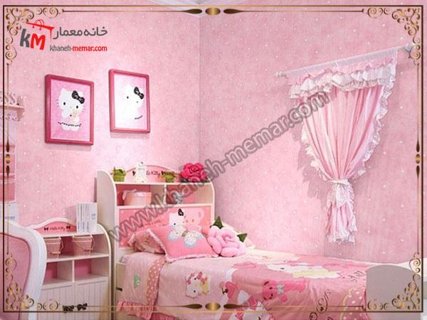 کاغذ دیواری اتاق خواب دخترانه کاغذ دیواری اتاق خواب کودک