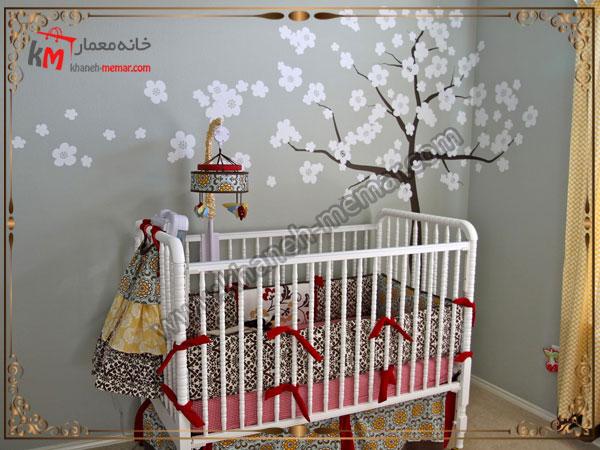 کاغذ زیبای اتاق خواب برای کودک کاغذ دیواری اتاق خواب کودک