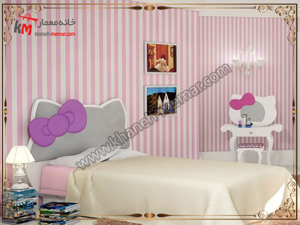 تزیینات اتاق کودک کاغذ دیواری اتاق خواب کودک