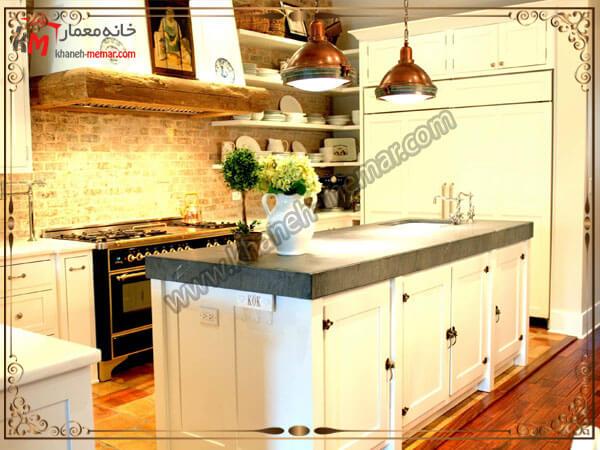 نصب یک لوستر بالای سینک ظرفشویی لوستر آشپزخانه را در کجای آشپزخانه نصب کنیم؟