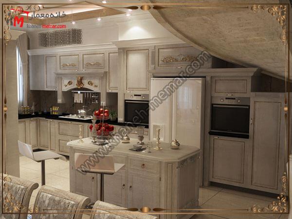 دکور داخلی آشپزخانه و دکور داخلی انها در انتخاب شکل لوستر به چه چیزهایی توجه کنیم؟