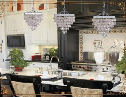 لوستر آشپزخانه به همراه طرح های فوق العاده شیک و زیبا