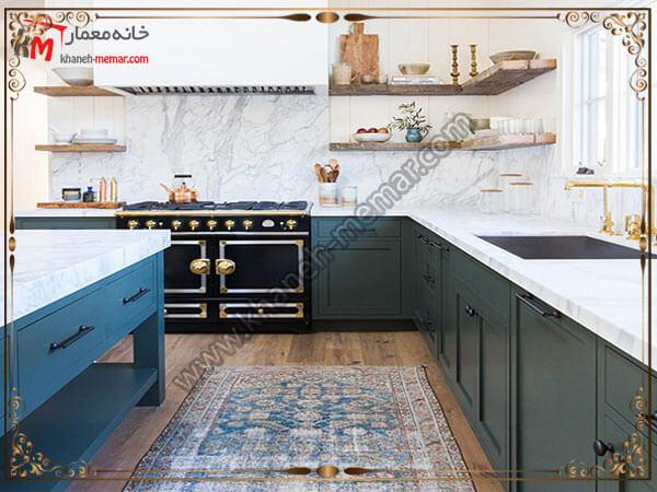 امکان شستشو و تمیز کردن فرشهای آشپزخانه