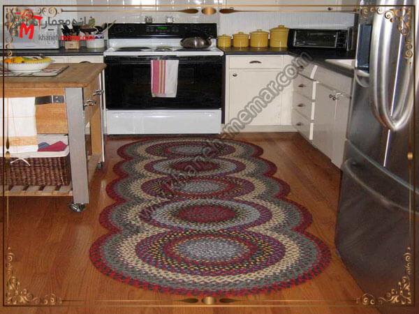 توجه به برند تولید کننده فرش آشپزخانه