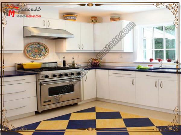 توجه به تراکم فرش برای آشپزخانه