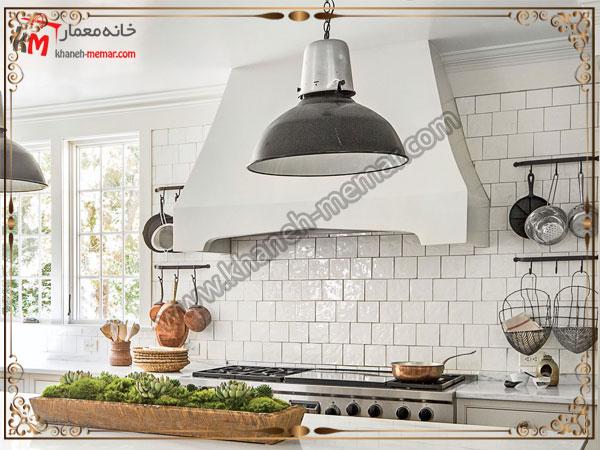 انتخاب رنگ کاشی روشن کاشی آشپزخانه ساده باشد یا طرح دار؟