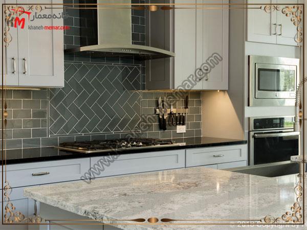 تایل آشپزخانه با طرح های مورب کاشی آشپزخانه برای دکوراسیون مدرن