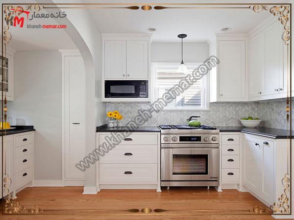 کاشی آشپزخانه ساده باشد یا طرح دار؟ استفاده از طرحهای ریز برای اشپزخانه