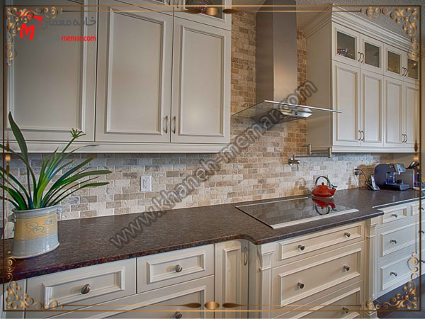 طراحی کاشی آشپزخانه با طیف های رنگی متفاوت