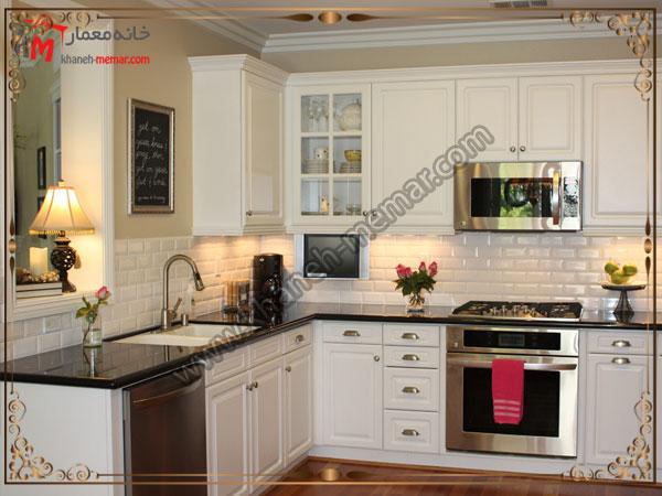 تایل های آشپزخانه زیبا کاشی آشپزخانه