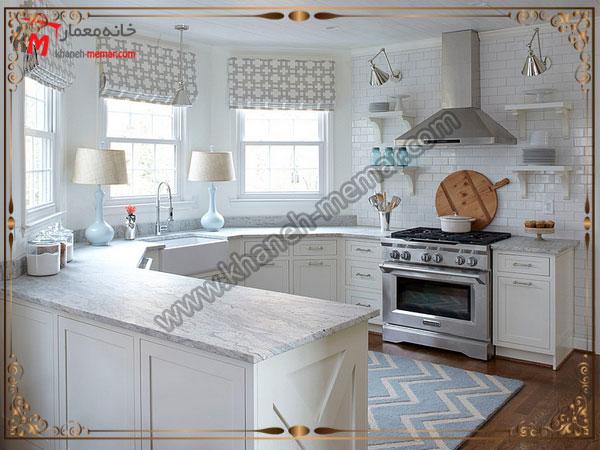 رنگ روشن برای طراحی داخل اشپزخانه کاشی آشپزخانه برای دکوراسیون مدرن