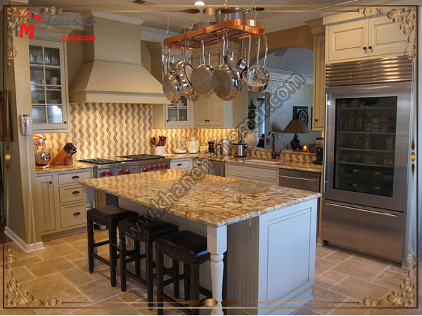 طرح های مورب کاشی برای آشپزخانه مدل سایه روشن