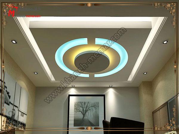 تزیینات دکور سقف پذیرایی و نصب کناف