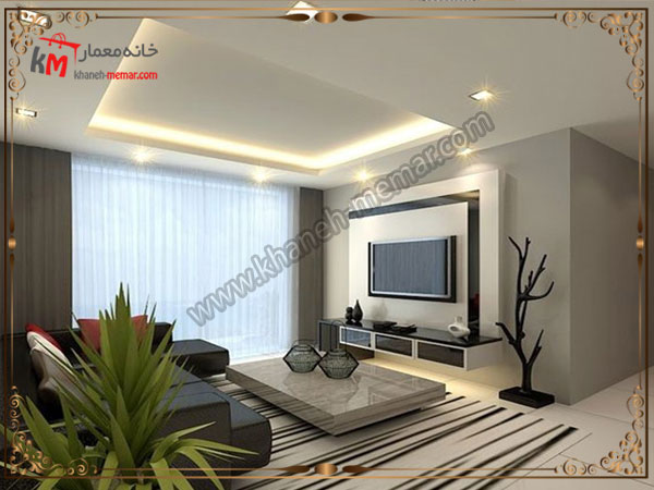 طراحی زیبای سقف با مدل های ساده و جذاب