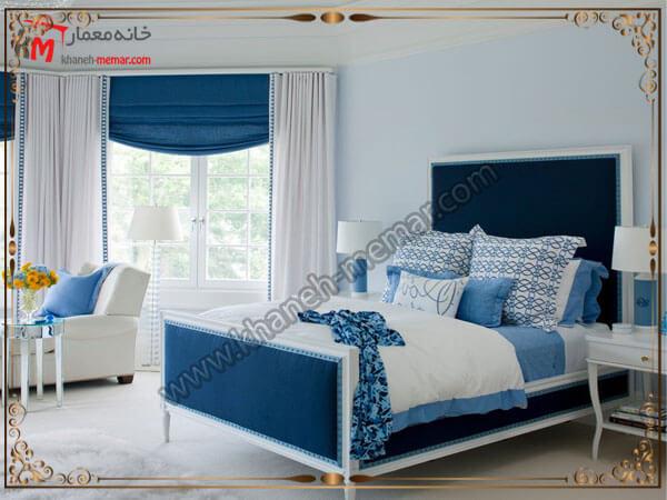 مدل های زیبای پرده اتاق خواب پرده اتاق خواب
