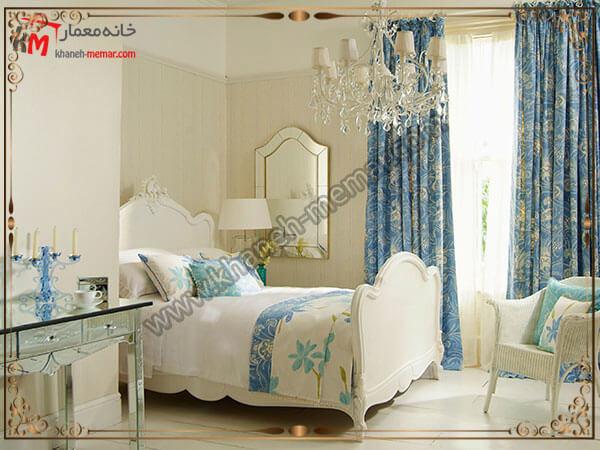 پرده کرکر ه ای مدلهای زیبا برای اتاق خواب