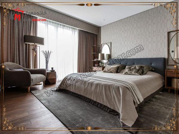 مدل دکور اتاق خواب مدل پرده اتاق خواب