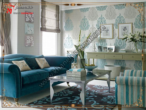 طرحهای شیک و کلاسیک برای استفاده در سالن پذیرایی