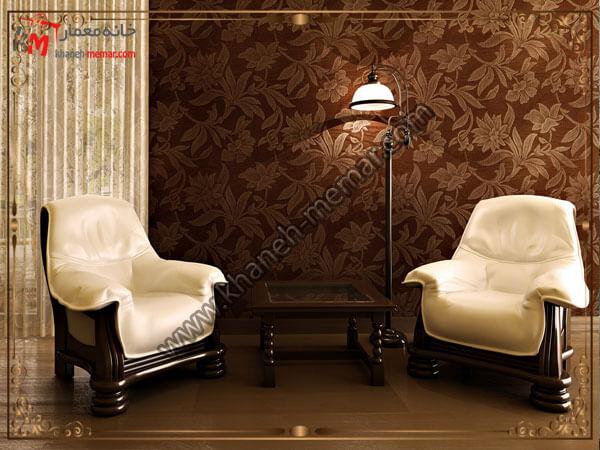 کاغذ های دیواری به سبک مدرن و طراحی گرم