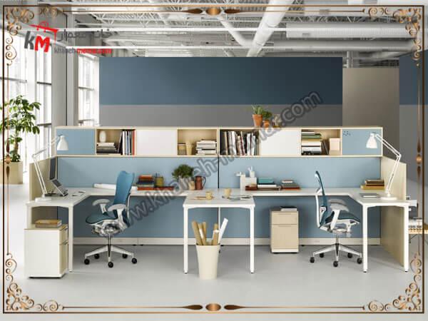 دفتر کاری طراحی شده شیک