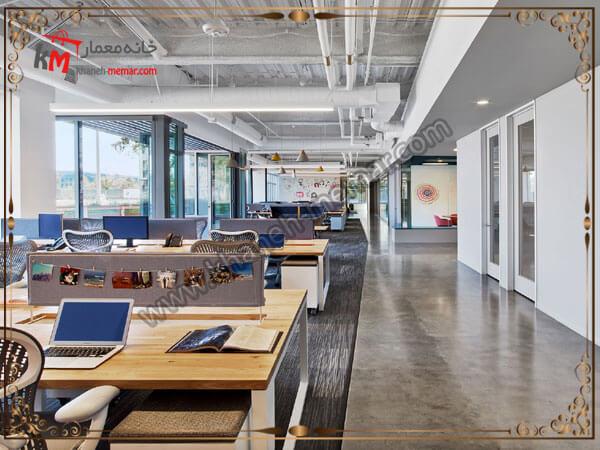 دفتر کاری همراه با ارامش