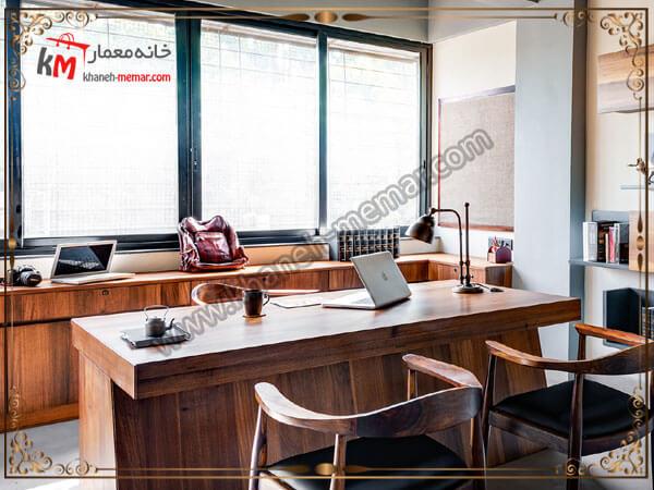 نورگیر زیبا برای اتاق کار