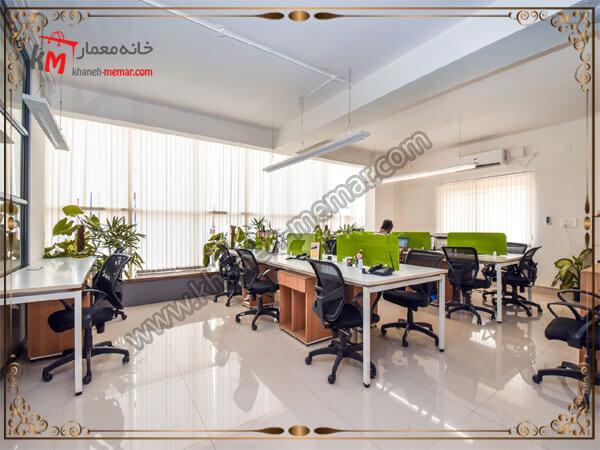 طراحی گلذان برای محیط کاری