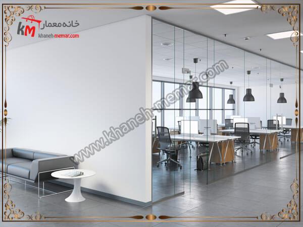 اتاق های شیشه ای برای دفتر کاری
