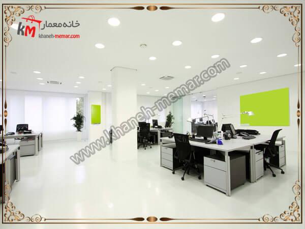 نور پردازی برای دفاتر کاری