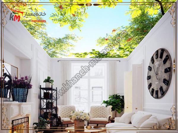 سقف زیبای کشسان