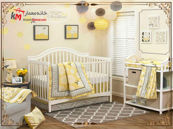 اتاق خواب طراحی شده برای کودک
