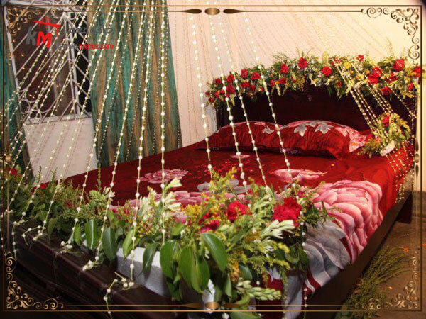 انتخاب رو تختی مناسب برا اتاق خواب عروس