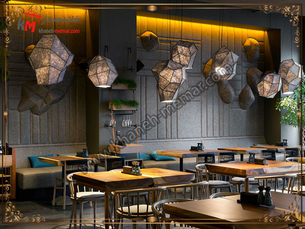 شیک ترین طراحی برای دکوراسیون کافه