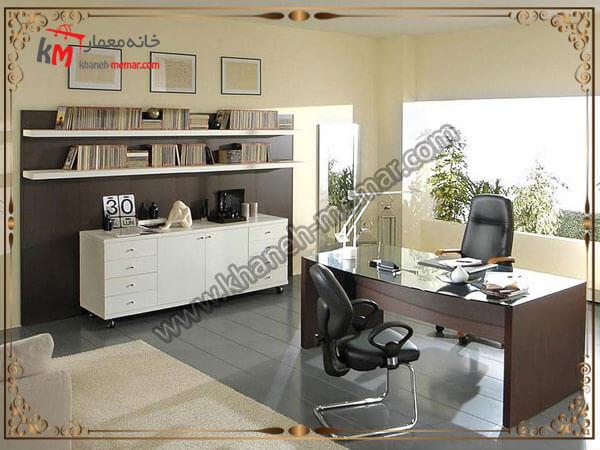 استفاده از پارتیشن و قفسه در دفتر کاری