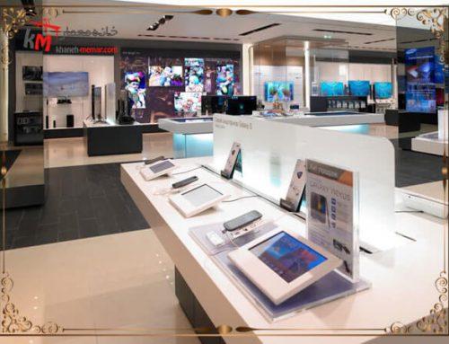دکوراسیون مغازه و طراحی دکوری خاص و بی نظیر