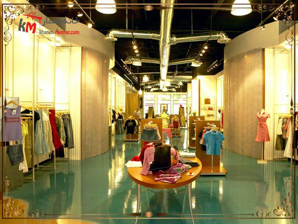 انتخاب رنگ در دکوراسیون داخلی مغازه