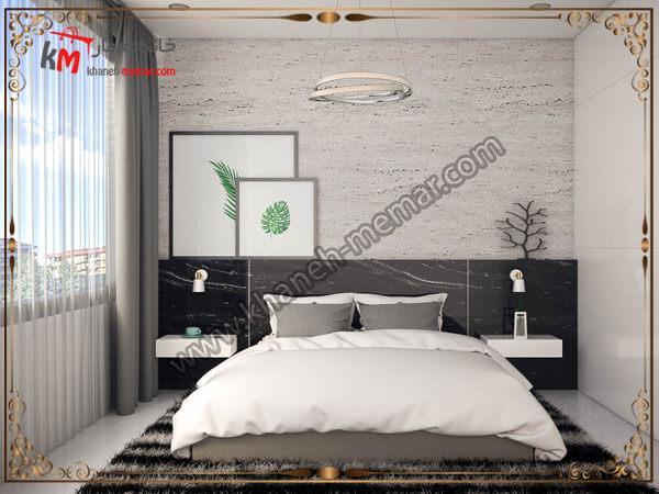 استفاده از رنگ سفید در دکوراسیون اتاق خواب