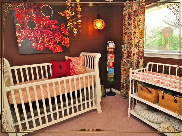 استفاده از قابهای بدون شیشه و تخته شاسی در اتاق کودک