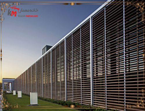 طراحی نمای لوور و آفتابگیر ساختمان و انواع آن