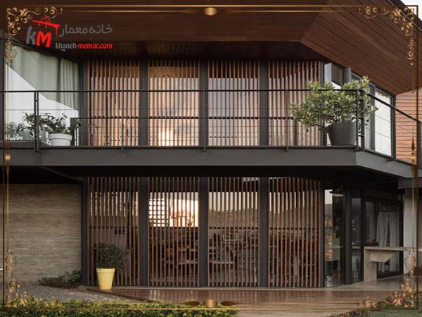 کاربرد نمای لوور در ساختمان ها 2