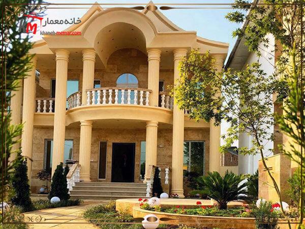 طرراحی ساختمان به سبک کلاسیک