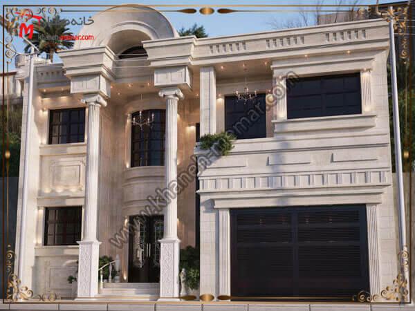 طراحی نمای خانه دوبلکس خود را به ما بسپارید