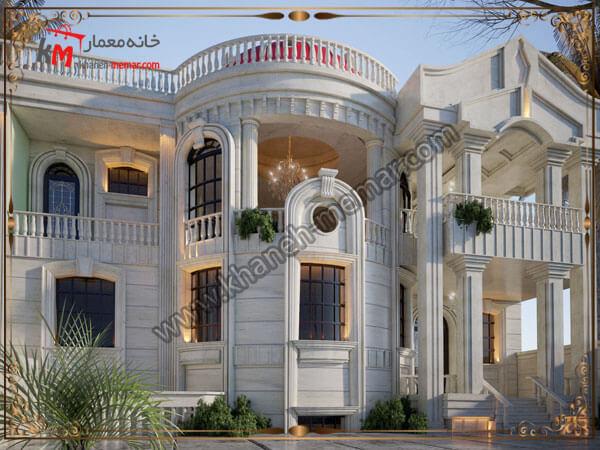 طرح های شیک از نمای ساختمان دوبلکس