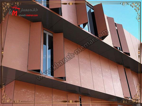 نمای ساختمان با مصالح نوین