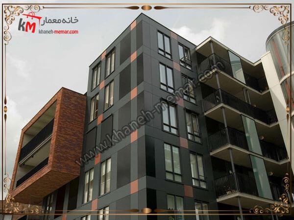 طراحی ساختمان چند طبقه