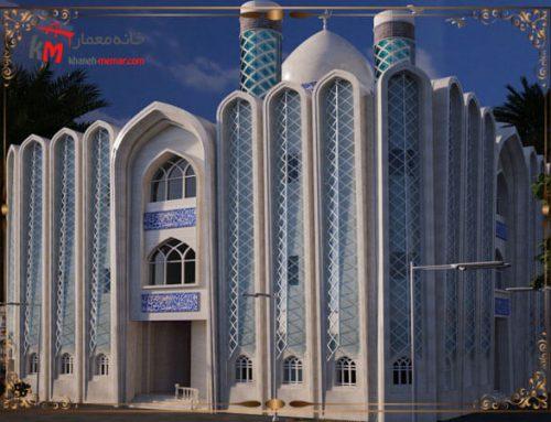 اصول کلی طراحی نمای مسجد