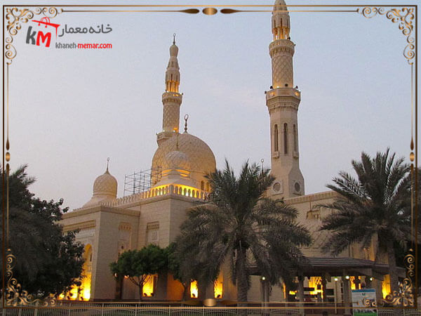 طراحی و زیبا سازی فضای داخلی و نمای بیرونی مسجد