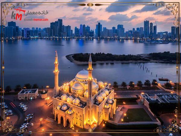 طراحی نمای مسجد