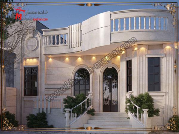 طراحی ساختمان به سبک نئوکلاسیک