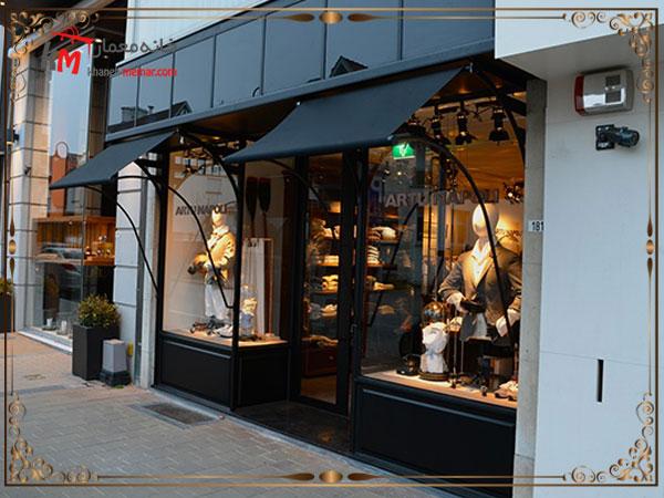 آشنایی با سبک های مختلف طراحی نمای مغازه